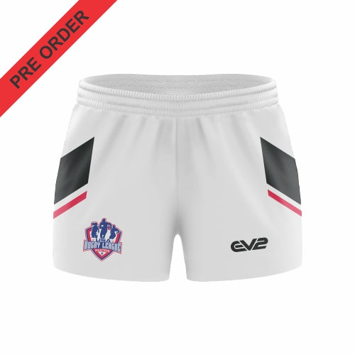 USA Rugby League Masters - Rugby League Short - White