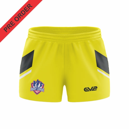 USA Rugby League Masters - Rugby League Short - Yellow