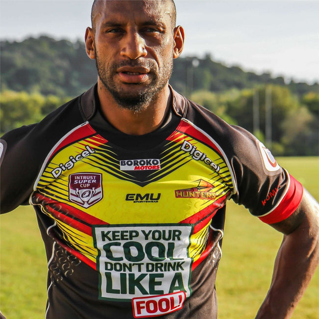 2018 SP PNG Hunters Replica Away Jersey