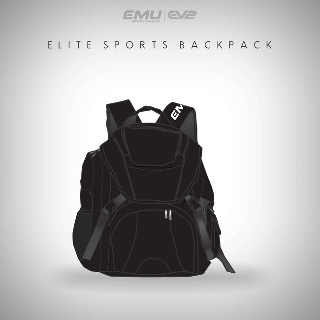 EMU Sportswear:Elite Sports Backpack