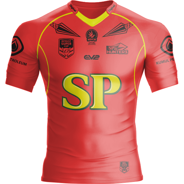 2019 PNG Hunters Colour Rush Jersey