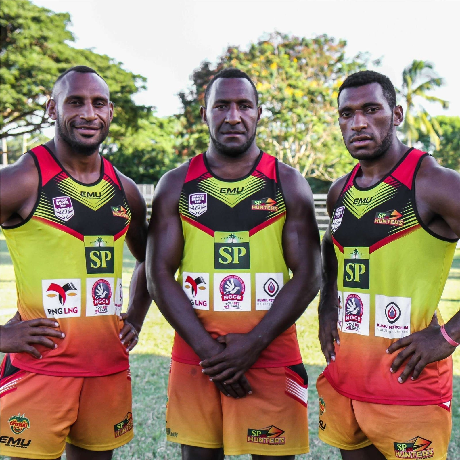 2018 SP PNG Hunters Training Singlet