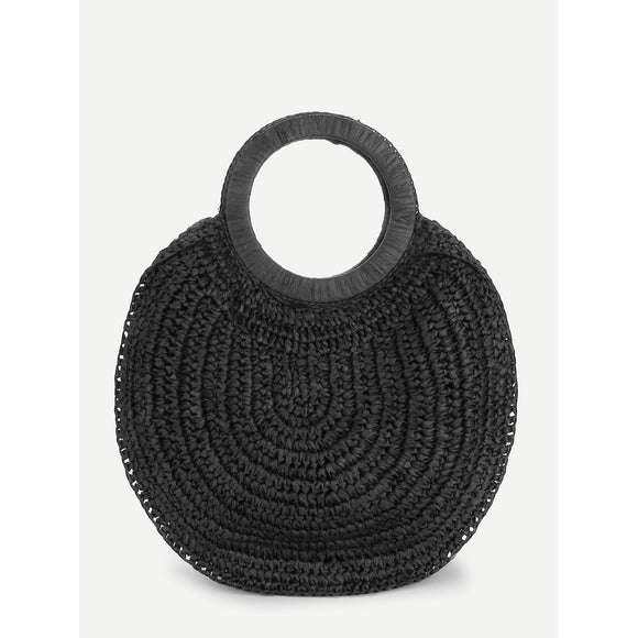 Round Design Tote Bag