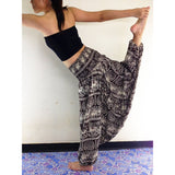 Ladies Comfy Yoga Beach Baggy Boho Gypsy Hippie Women Harem Pants Trousers