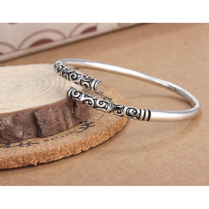 Fashion Vintage Thai Silver Cuff Bracelet&bangle for Gifts