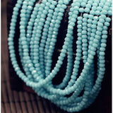Crystal Rondel Beads Glass Beads  Crystal Beads/ Wheel Beads for Jewelry Making