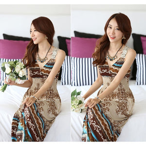Summer Sexy Women Floral Party evening Dress Long Maxi V-Neck Boho Beach Lace Sundress clubwear