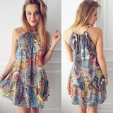 Wonderful Womens Summer Vintage Boho Mini Maxi Evening Party Beach Floral Dress