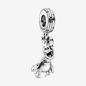 New Arrival 925 Sterling Silver Beads The Little Mermaid Sebastian Dangle Charm fit Original Pandora Bracelets Women DIY Jewelry