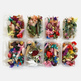 1 Box Dried Flower  Real Dry Plants For Aromatherapy Candle Epoxy Resin Pendant Necklace Jewelry Making Craft DIY Accessories