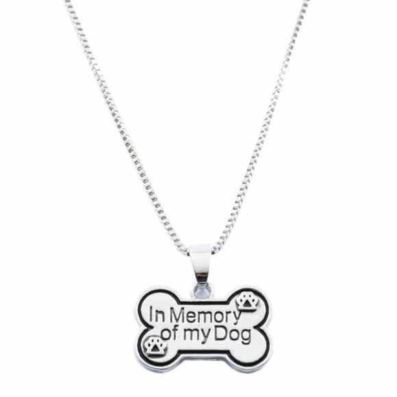 Creative Letters Pendant Necklace Personality Dog Tag Necklace in memory of my  Creative Dog Tag Necklace #45