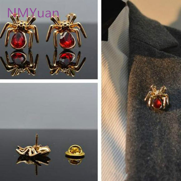 2017 Fangzuan Multicolor  Fashion Simple Small Insects Spider Brooch Jewelry / Personalized Fashion Brooch