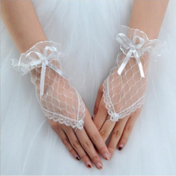 Gothic Sexy Short Lace Crystal Bracelets Dance Wedding Bridal Evening Party Slave Hand Chain Women Jewelry