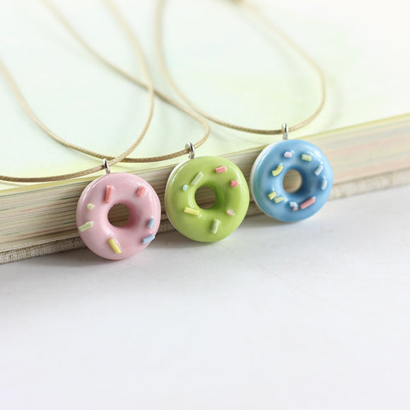 autumn new small fresh Ceramic Pendant students sweet gifts ceramic necklace necklaces for women jewelry #1071