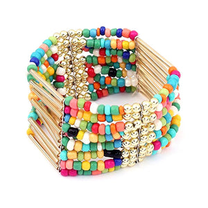 Bohemian Prague Bead Bracelet - The Rogue's Clothes