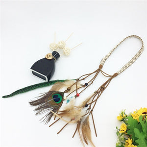 Feather headdress Hippy Bohemian Chic Head bands