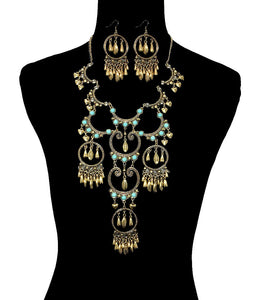 Bohemian Style Necklace Set - The Rogue's Clothes