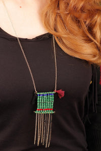 Women's New Season Square Form Bohemian Necklace