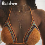ALIUTOM Bohemian Golden Virgin Mary Pendant Necklace for Women's Multilayer Vintage Rose Layered Necklace Charm Choker Necklace - The Rogue's Clothes