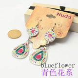 19 color New Sale Vintage Earrings for women Fashion Earrings Statement bohemian drop earringsJewelry ,Wholesale #Fo-DJ078 - The Rogue's Clothes