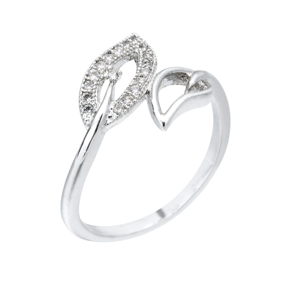 Sweet Romantic Leaf Ring, Popular Jewelry Gift for Women/Girls Wedding Party j z-032