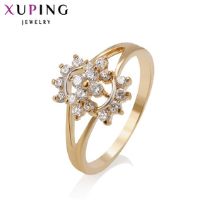 Xuping Fashion Ring High Quality Charm Design Synthetic Cubic Zirconia Rings jewelry Promotion Wedding Gift S22.2/ S33.5- 11317