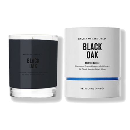 Black Oak Scented Candle - Living Industries