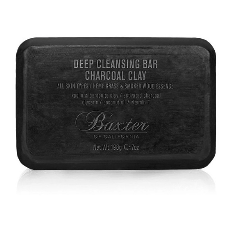 Deep Cleansing Bar Charcoal Clay 198g - Living Industries