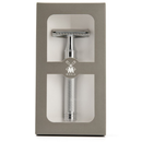 Traditional R89 Safety Razor Closed Comb: Chrome Metal - Living Industries