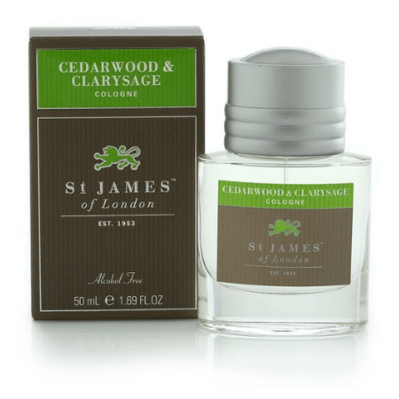 Cologne: Cedarwood & Clarysage 50ml - Living Industries