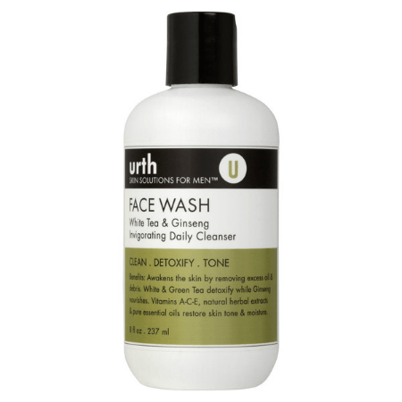 Face Wash: White Tea & Ginseng 237ml - Living Industries