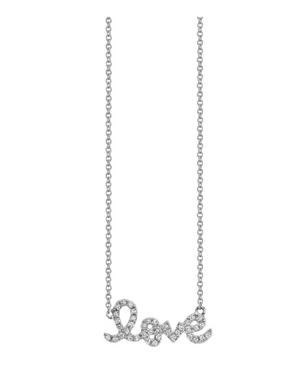 Sydney Evan 'Love Necklace""