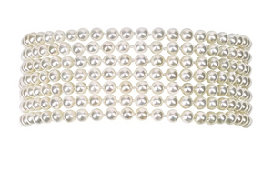 "Fallon Jewelry ""Monarch Pearl Stacked Choker """