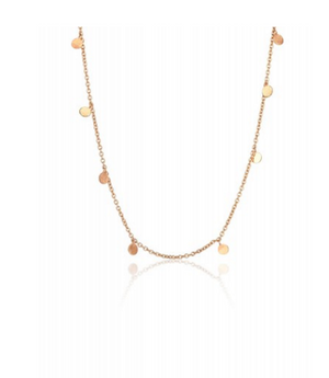 "Kismet By Milka ""Dangling Circles Necklace Medium"""