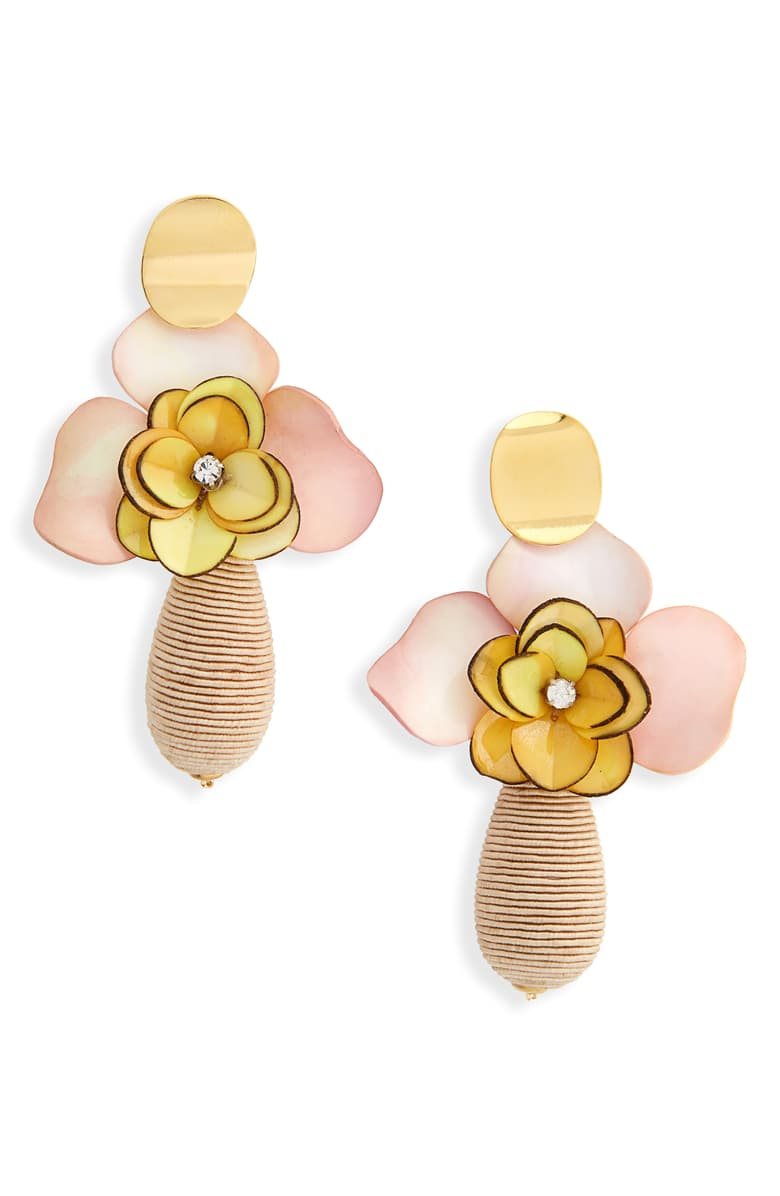Magnolia Drop Earrings