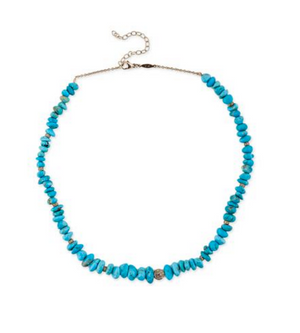 "Jacquie Aiche ""Turquoise Beaded Choker Necklace"""
