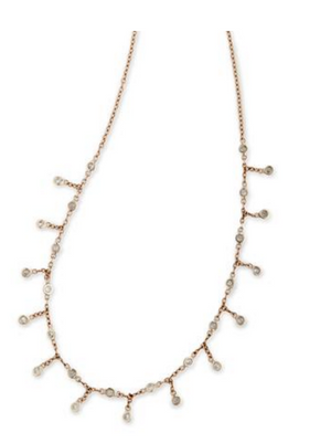 "Jacquie Aiche ""Full Shaker Diamond Choker"" - Millo Jewelry"