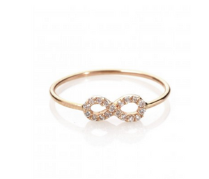 "Kismet By Milka ""Diamond Infinity Ring"""