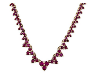 "Jacquie Aiche ""Ruby Elizabeth Necklace"""