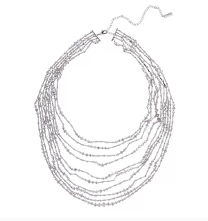 "Fallon Jewelry ""Monarch Sliver Bib"""
