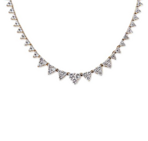 "Jacquie Aiche ""Diamond Elizabeth Necklace"""