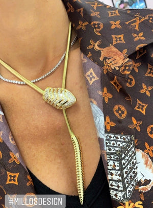 Serpent Statement Necklace - Millo Jewelry