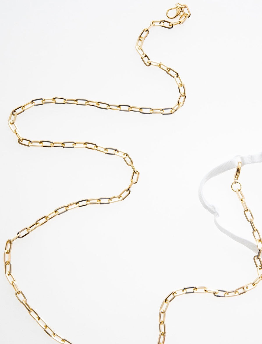 Mask Chain Thick Paper Clip - Millo Jewelry