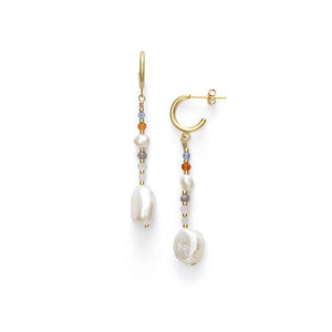 Rock and Sea Earrings