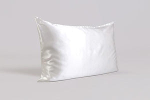 PILLOWCASE - WHITE - KING - ZIPPERED