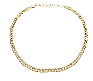 Diamond Cuban Link Necklace - Millo Jewelry