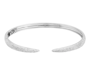 Pave Claw Bangle - Millo Jewelry
