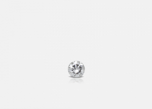 1.5mm Invisible Set Diamond Threaded Stud - Millo Jewelry