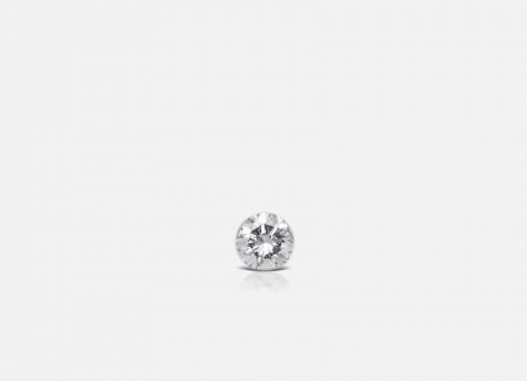 1.5mm Invisible Set Diamond Threaded Stud