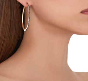 Triplet Hoop Earrings, Jumbo - Millo Jewelry